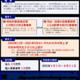 【北海道のコロナ禍集中対策期間の設定に伴い外出自粛等で影響を受けた事業者が幅広く対象】道の特別支援金の申請受付が4月1日から始まります(2021/3/28)